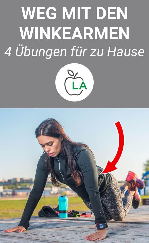 Wer die Winkearme loswerden will, muss wirksame Bizeps- und Trizepsübun …   – Sport, Fitness und Workouts