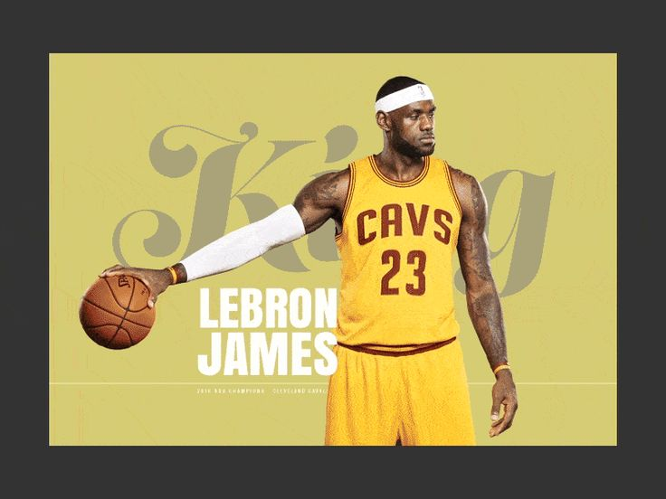Lebron Stats – Ui design concept and prototype for webflow ( http://cavs.webflow.io ) by JP