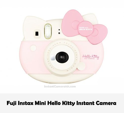 Instax Mini Hello Kitty Instant Camera the cutest Instant camere ever. A super cool present for any Hello Kitty Fan.  #Polaroid #InstantCamera #Instax #HelloKitty #Cute