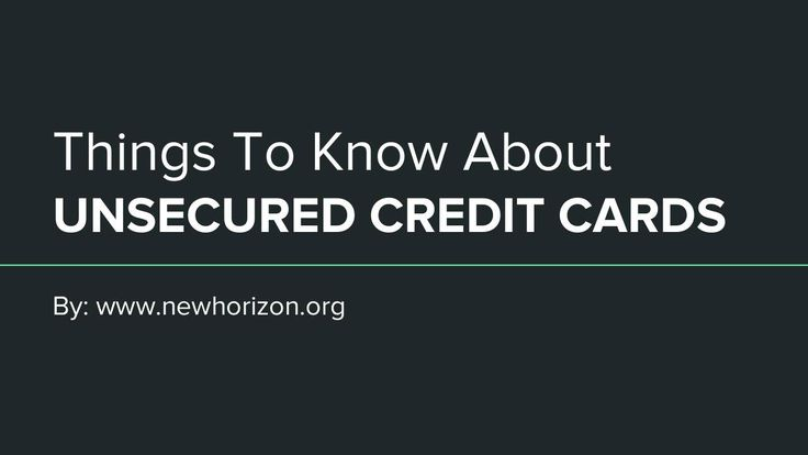 Knowing unsecured Credit Card is not hard to find. The vast majority of credit cards on the market are unsecured. The unsecured credit card is one of the fastest ways to approved your application very easy.