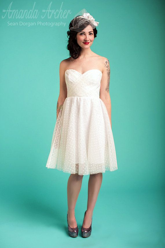 333 best Gowns for Thrifty Gals images on Pinterest | Short wedding ...