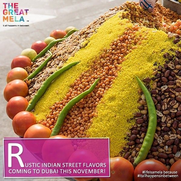 Prepare to experience a mix of sweet and salty with tasty treats at The Great Mela because #lifeisamelaand #itallhappensinbetween