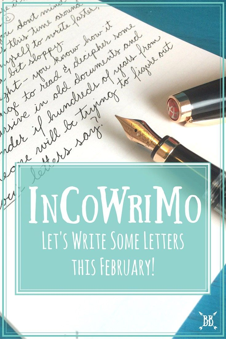 Are you participating in InCoWriMo this February? Here's the run-down for you + how to find someone to write to :)