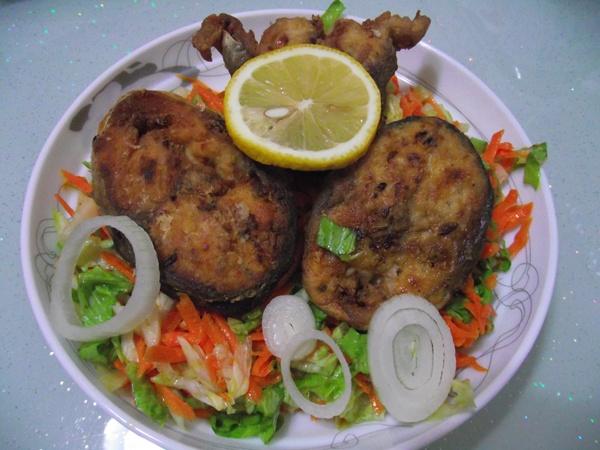 soslu palamut kızartması