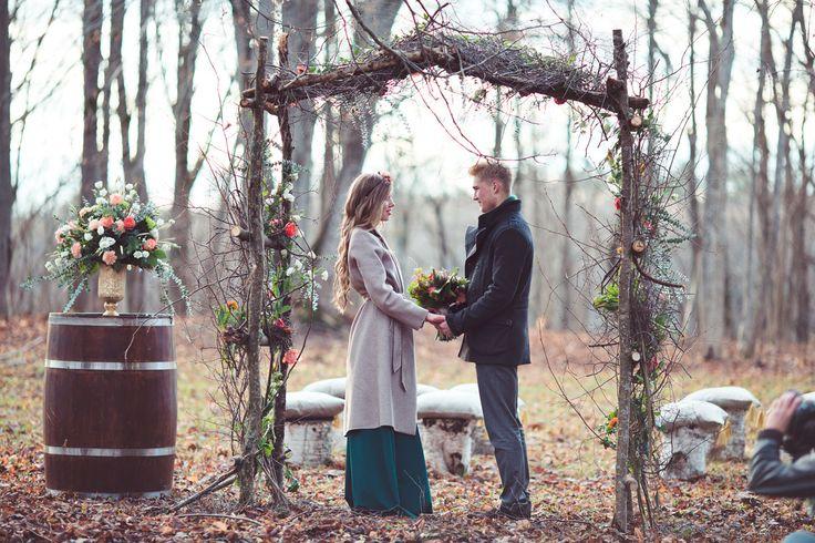 Картинки по запросу свадьба в ноябре рустик