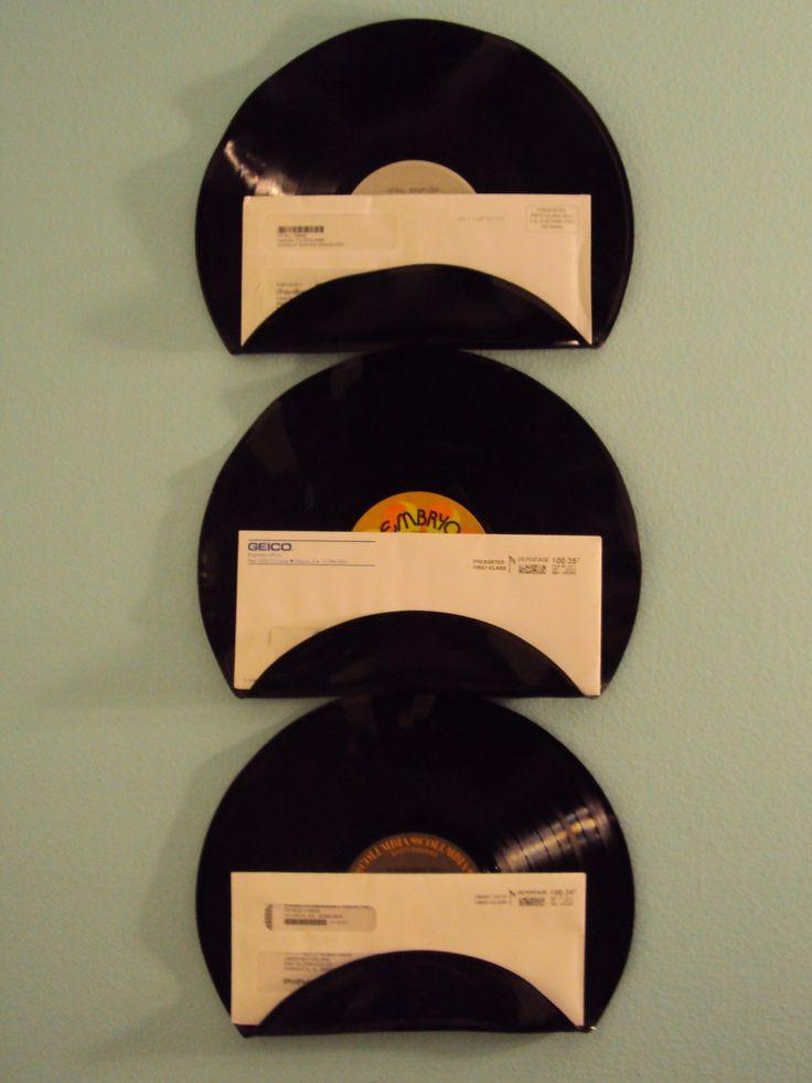 Music Lover Vinyl Record Mail Holders