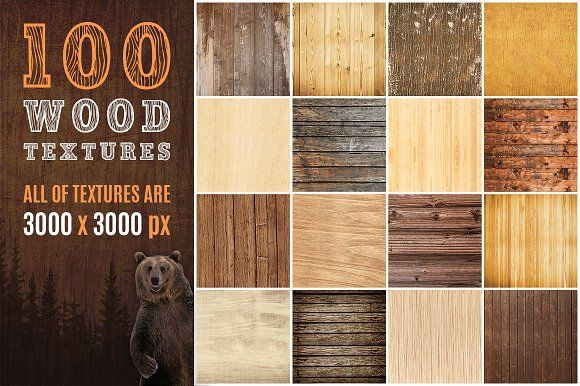100 Real Wood Textures by Vik_Tory_Design on @creativemarket