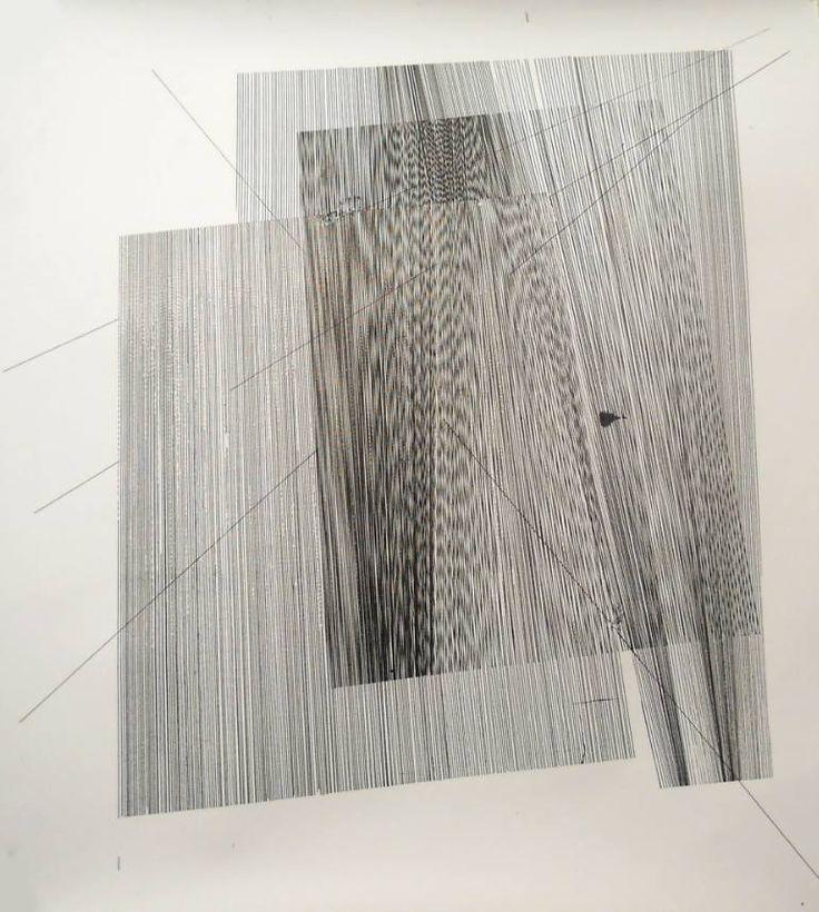 "Saatchi Art Artist Gyula Sági; Drawing, ""Op. 167. interferences serial"" #art"