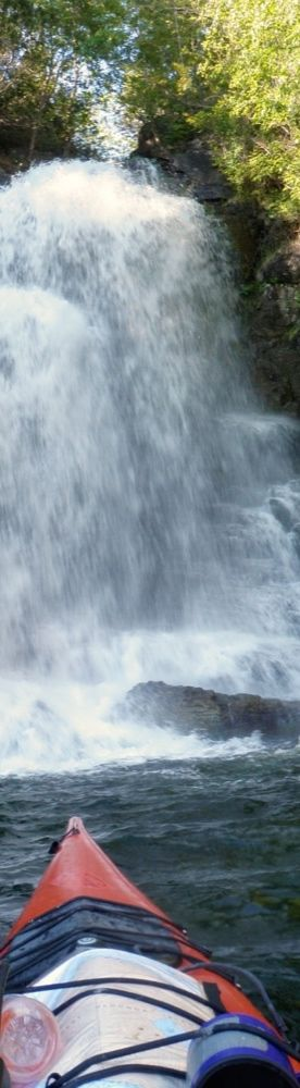 Desolation Sound - kayaking by the spectacular waterfalls. Check it out in June and September!