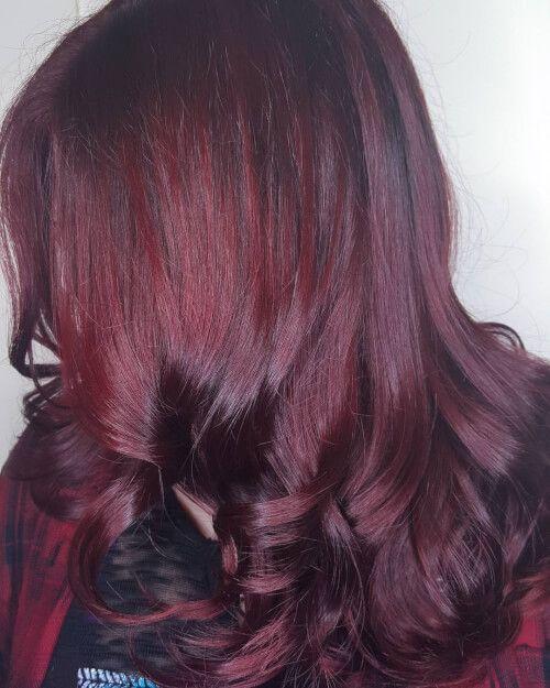 1000 Ideas About Deep Burgundy Hair Color On Pinterest