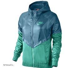 Nike Sportswear Windrunner Women's Jacket XL Green Jade Gym Casual Training New