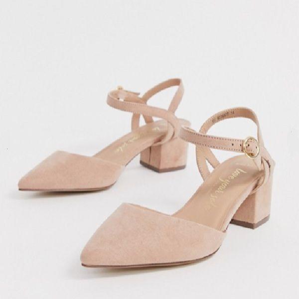 Low block heel pumps, Block heels pumps