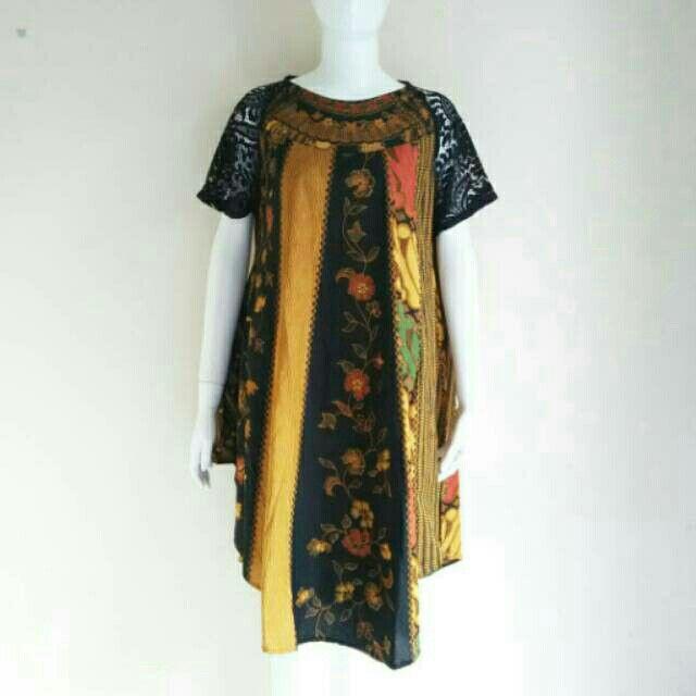 Saya menjual Dress batik kombinasi broklat seharga Rp180.000. Dapatkan produk ini hanya di Shopee! https://shopee.co.id/nurika.batik/222180080 #ShopeeID