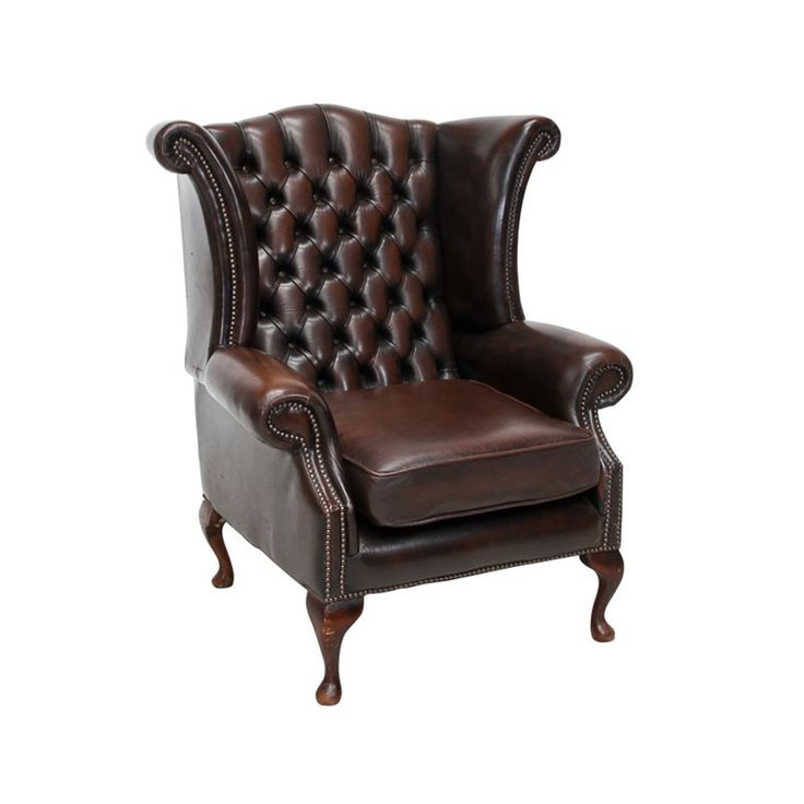 Chesterfield Wing Back Chair - The iconic Chesterfield range combines good old fashioned English tradition combining comfort and style. It is a particular favourite for creating Gentleman's lounges. We do also stock coffee tables in this range.