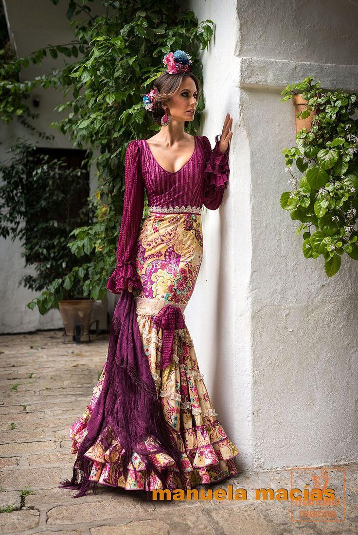 Resultado de imagen de vestidos de flamenca 2016