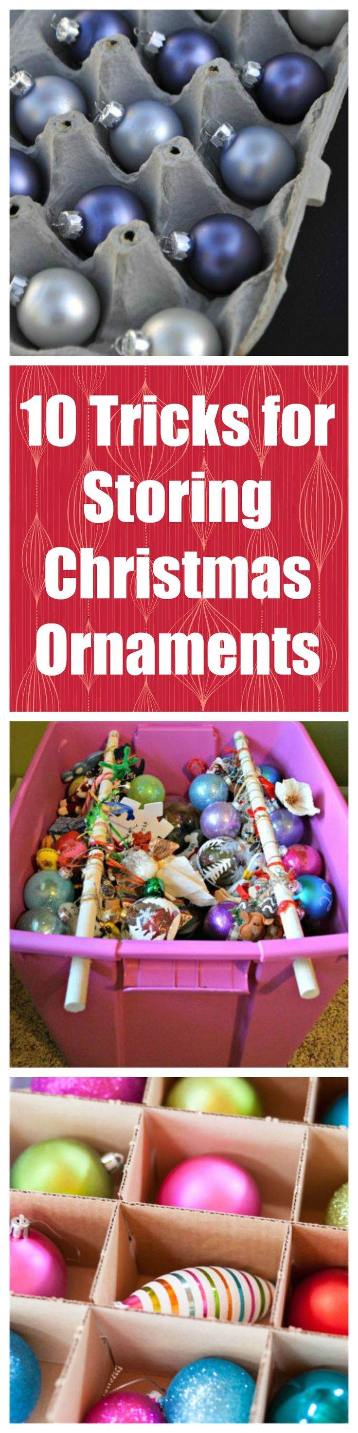 10 Tricks for Storing Your Entire Christmas Ornament Collection