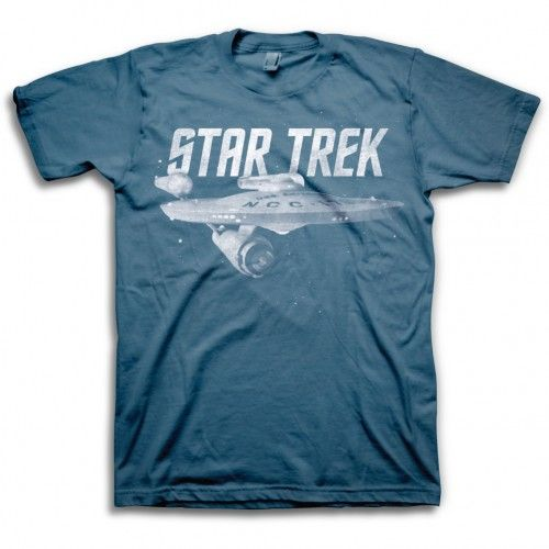 Star Trek Classic T-Shirt [Slate Grey]   Star Trek Shop
