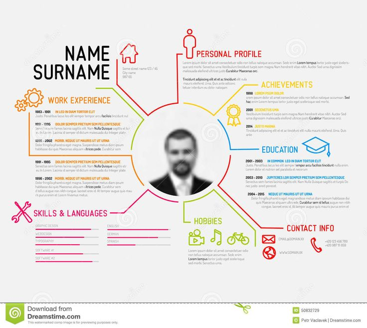 12 best resume images on Pinterest Cv resume template Cv ideas
