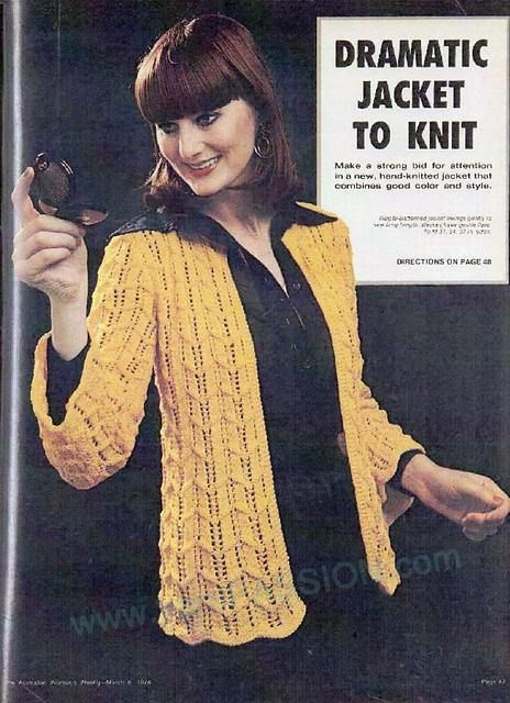 DK Dramatic yet Simple Jack to Knit Instructions for 31 - 37ins pattern can be found at ETSY in the shop YarnPassionDesigns