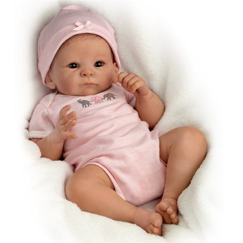 "Baby Doll: Little Peanut Baby Doll - 17"" by Ashton Drake The Ashton-Drake Galleries http://www.amazon.com/dp/B00DIKCJJE/ref=cm_sw_r_pi_dp_stKGub1Q05V31"
