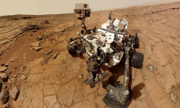 La #NASA publica en #facebook un #video de #Marte en 360 grados  Espacio 360 curiosity facebook nasa video