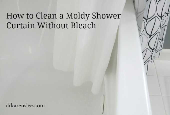 How To Clean A Moldy Shower Curtain Without Bleach Curtains Cleanses And Shower Curtains