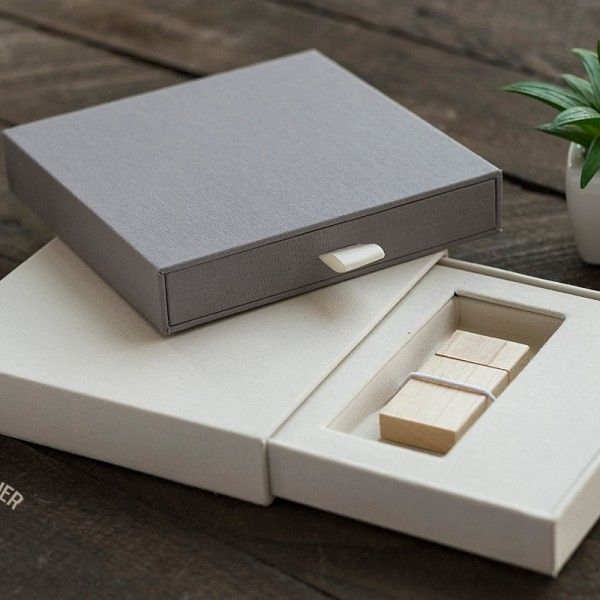 Linen Book Cloth USB Drawer Box | Photographer Supply Co. | Photographer Packaging & Presentation Inspiration