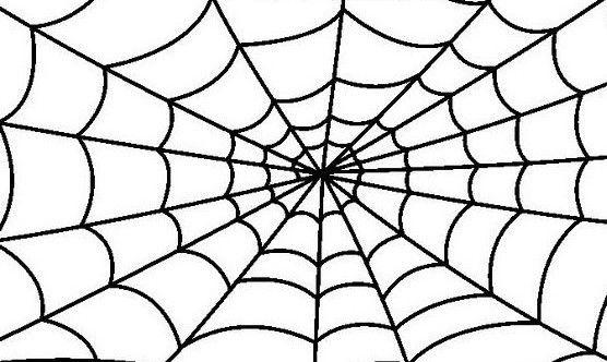 Arañas De Halloween Para Colorear: #tela De #araña #halloween