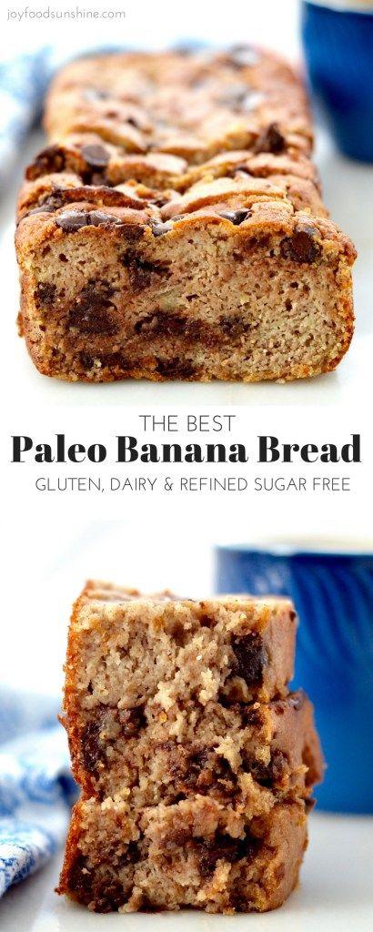 The very best Paleo Banana Bread! Easy to make, super ...