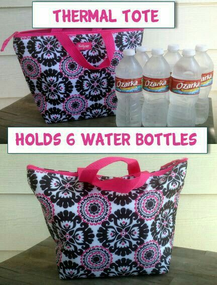 Need a fun way to keep your drinks cool? Going out to sporting events, the beach or the pool? Carry the Thermal Tote from Thirty-One! It fits a 6 packs and keep it cool. #6pack #beach #pool #sports. Click on the link to customize your own now.