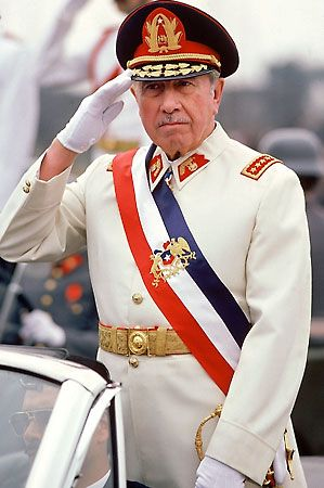 Chile's US-backed military dictator - General Augusto Pinochet