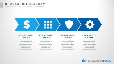 Browse our extensive collect of infographic slide templates designed specifically for PowerPoint at PresentationFocus.com.