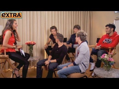 One Direction Is Excited for Dad-to-Be Simon Cowell - YouTube<< In which Niall shamelessly flirts with Miss Universe Olivia Culpo