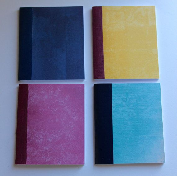 Day 3: Pocket Size Journals by BoundedPaper on Etsy
