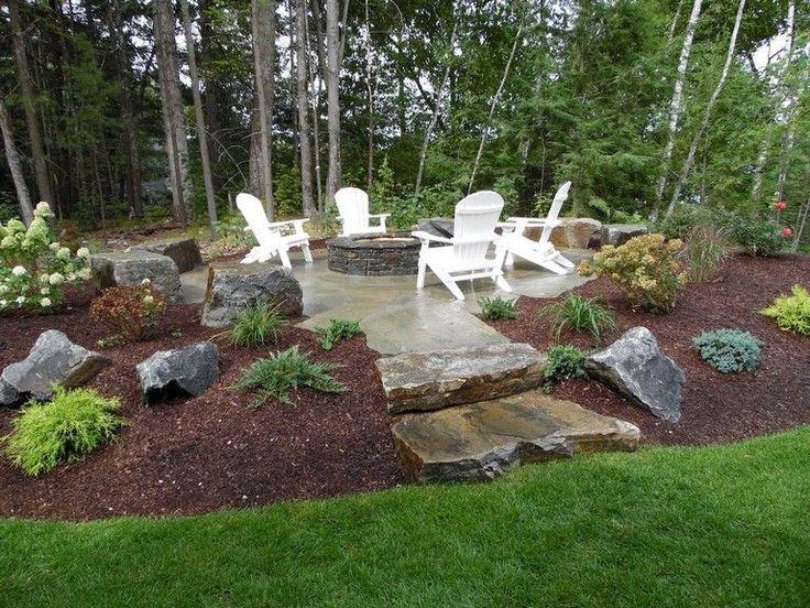 63 Simple Diy Fire Pit Ideas For Backyard Landscaping Backyardlandscaping Backyardplayhouse Backyar Outdoor Backyard Fire Pit Landscaping Fire Pit Backyard