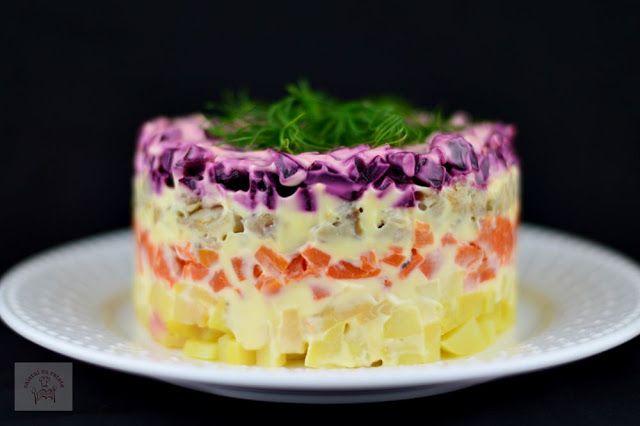 Salata ruseasca Șuba - CAIETUL CU RETETE