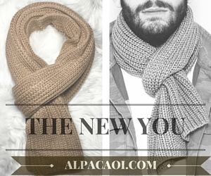 ALPACAOI  is proudly LAUNCHING THE MEN's LINE and offers this noble yarn with exclusive Handmade  & Hypoallergenic pieces made for YOU!
