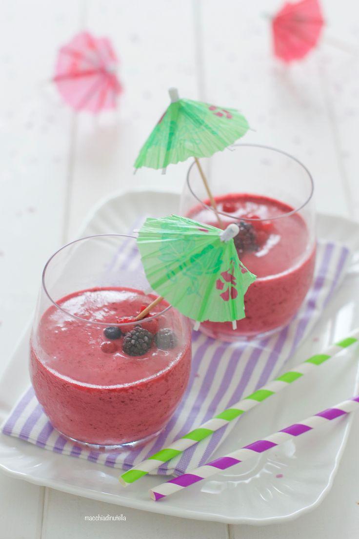 Favoloso Oltre 25 fantastiche idee su Bevande alla frutta su Pinterest  VN52
