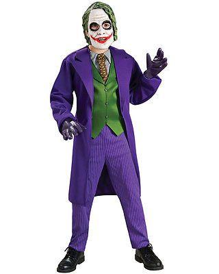 Joker Costume Boy