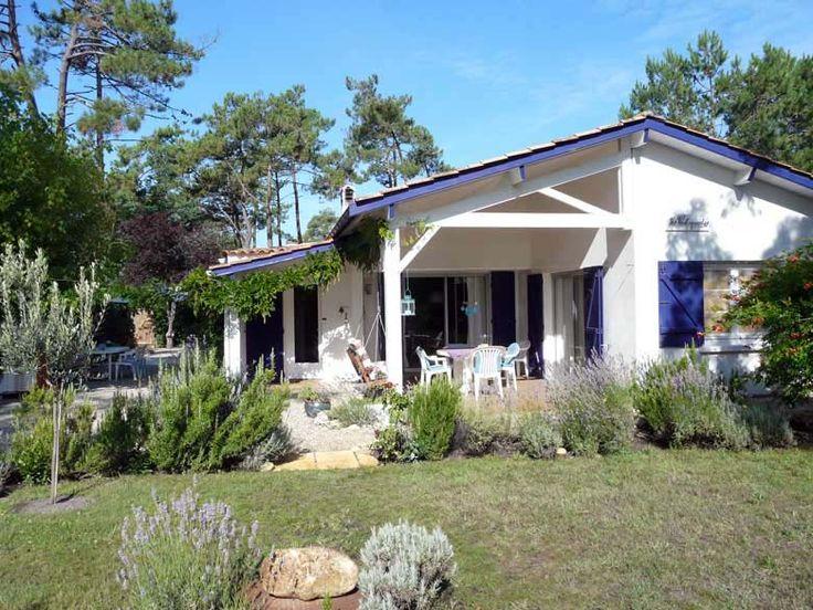 Sie suchen ein schönes Ferienhaus am Atlantik in Frankreich? - unser Ferienhaus in Montalivet privat zu vermieten