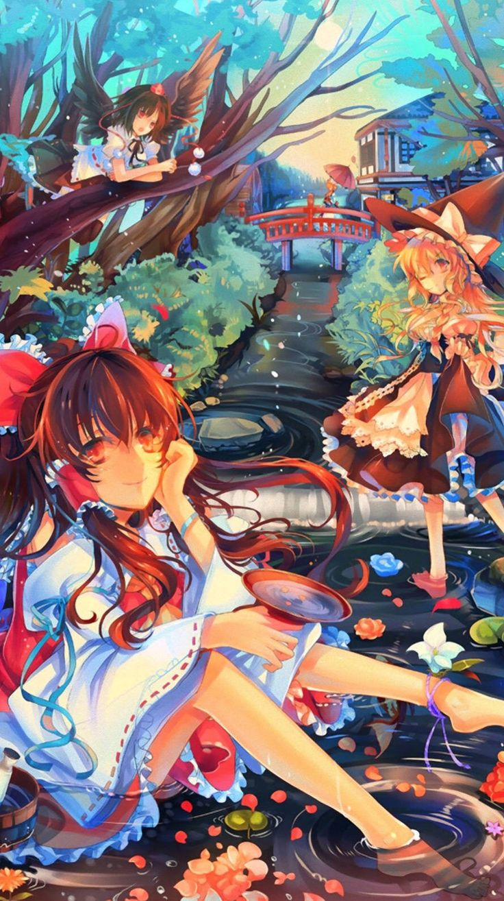 pin by chanel aprahamian on touhou project illustration anime art beautiful anime images