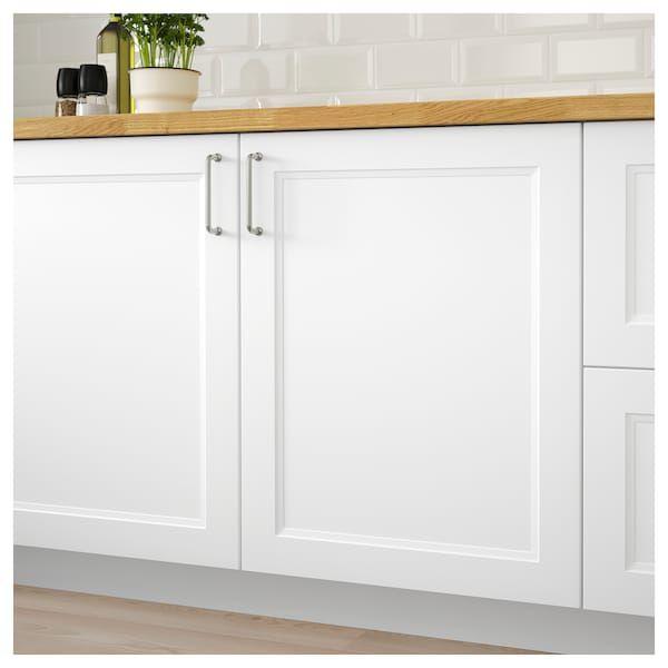 Best Axstad Door Matt White 24X30 Traditional Kitchen 400 x 300
