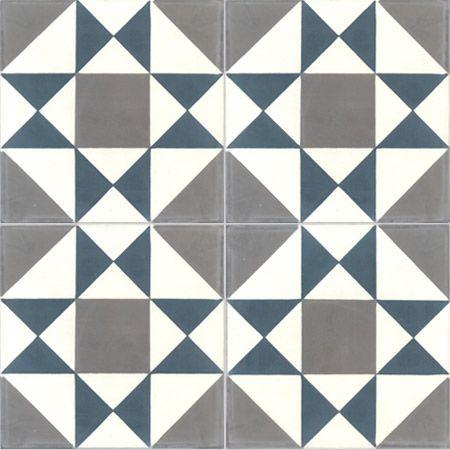 - cement tiles GRENELLE 10.30.32 - Couleurs & Matières