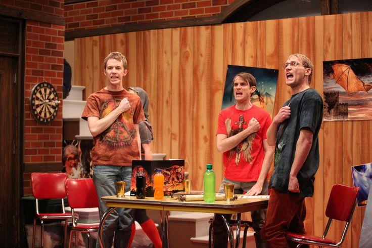 Huzzah! Watch a nerdy new #studioC tonight at 10pm ET/8pm MT on BYUtv! #comedy