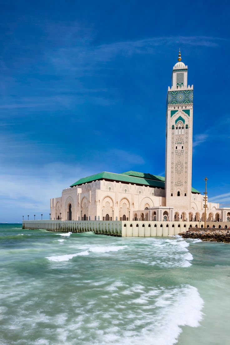 Places to Visit. Hassan II Mosque, Casablanca, Morocco.                                                                                                                                                      More