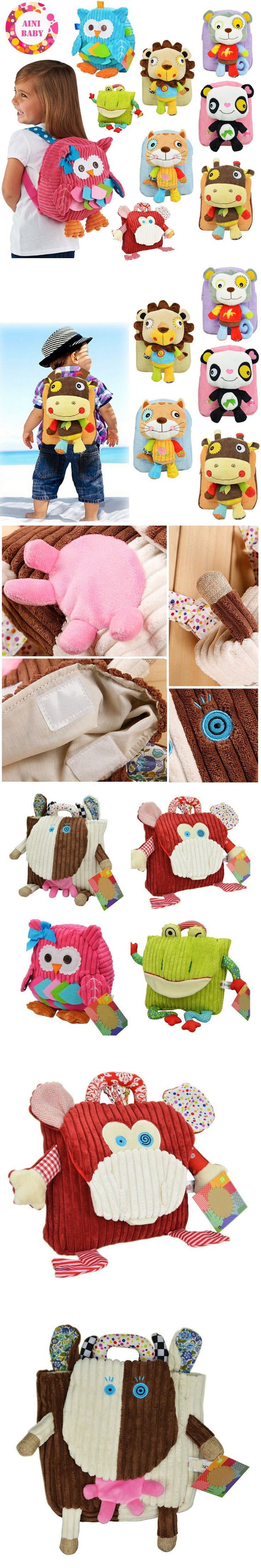Cutely !! New Cartoon Soft Animals Children Backpack For Baby School Bag For Girl Boy School Bags kids Backpack Mochila