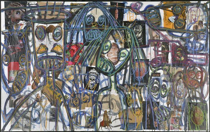 Aboudia, Born 1983, Abidjan, Ivory Coast | Jack Bell Gallery