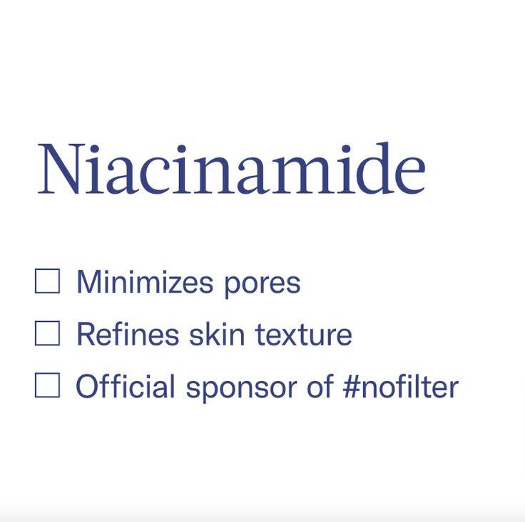 Niacinamid zeichnet sich durch seine Vielseitigkeit für fast alle Hautpflegemittel aus … – Superstar Ingredients