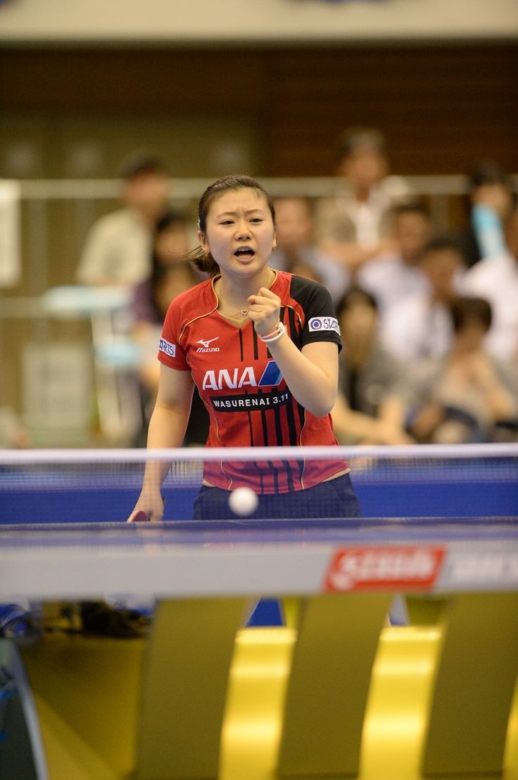 C'MON!! Local hero 福原愛 Ai Fukuhara secures her place in the Women's #ITTFWorldCup quarterfinals. But now must play Wu Yang for a spot in the semis.