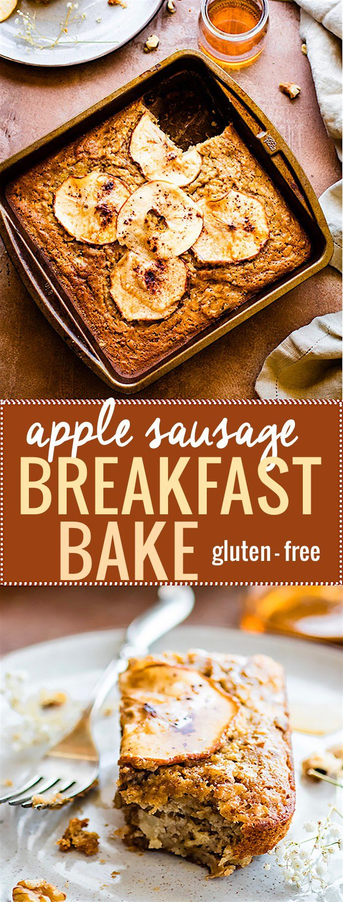 Easy Apple Sausage Breakfast Bake (gluten Free, Healthy)